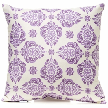 Glenna Jean Sweet Violets Pillow - Damask
