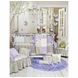 Glenna Jean Viola 4 Piece Crib Bedding Set