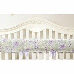 Glenna Jean Viola Convertible Crib Rail Protector - Short Set