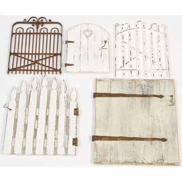 Glenna Jean Wall Art - Garden Gate Set (Set of 5)