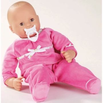 "Gotz Maxy Muffin 16.5"" Doll - No Hair with Pink Outfit"