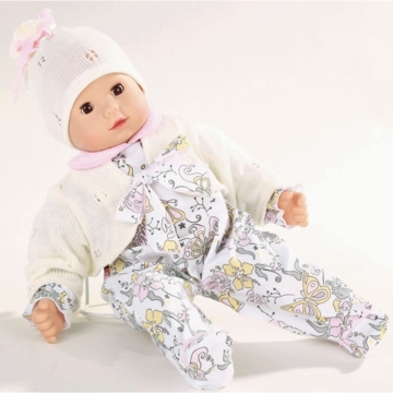 "Gotz Maxy Muffin 16.5"" Doll - No Hair with White Outfit"
