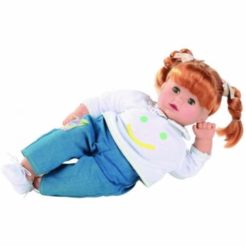 "Gotz Maxy Muffin 16.5"" Doll - Red Hair"
