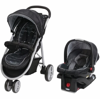 Graco Aire3 Click Connect 35 Travel System - Gotham