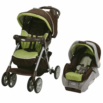 Graco Alano Classic Connect Travel System - Go Green