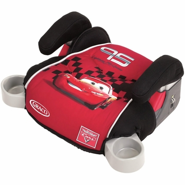 Graco TurboBooster Backless Car Seat - Disney World of Cars