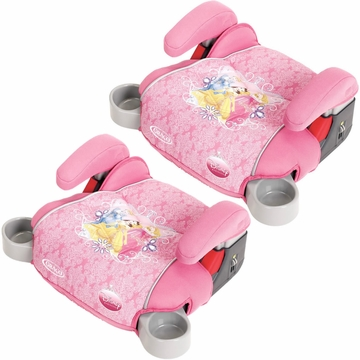 Graco Backless TurboBooster Car Seat in Jeweled Princess (Pack of 2)