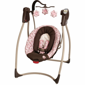 Graco Comfy Cove DLX Swing - Madison