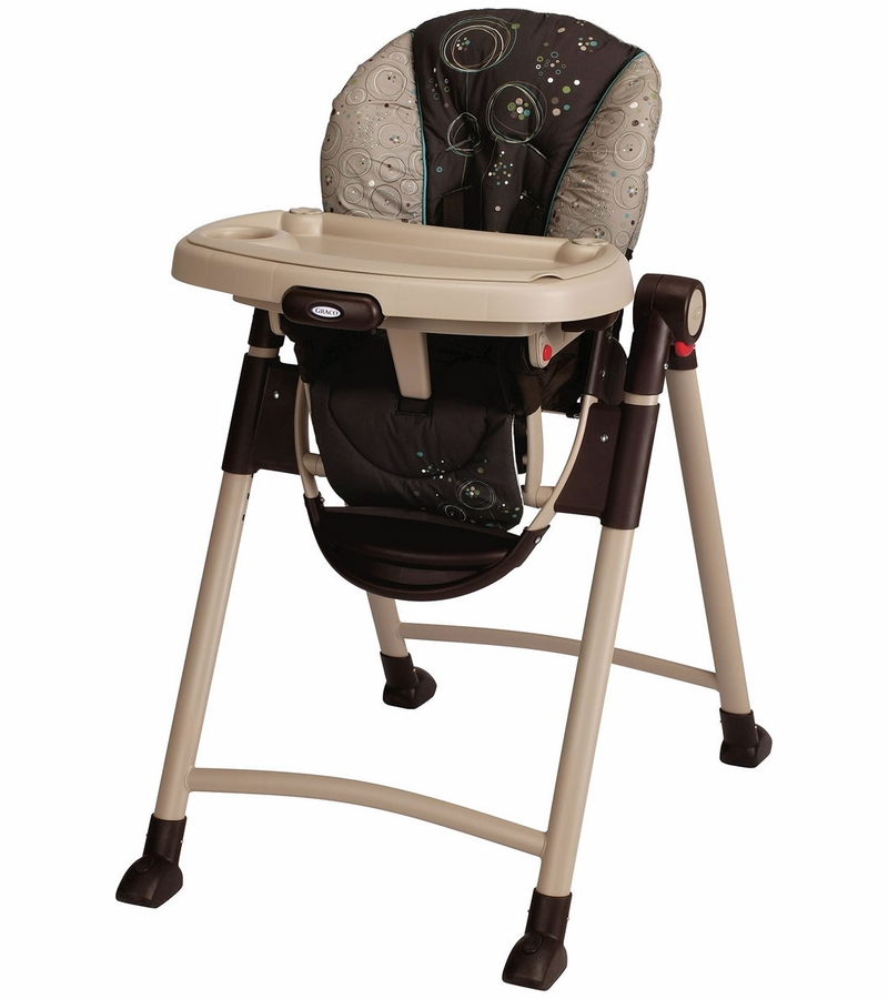 Graco Contempo High Chair - Scribbles