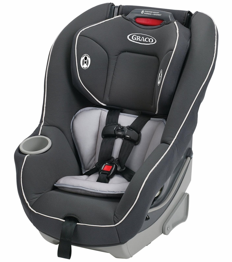 Graco Green And Grey Car Seat