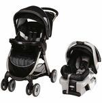 Graco FastAction Fold Classic Connect Travel System - Metropolis