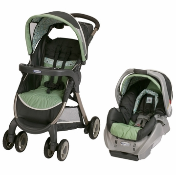 Graco FastAction Fold Classic Connect Travel System - Sonoma