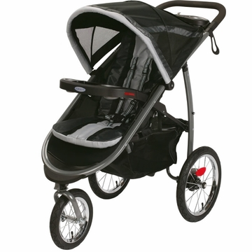 Graco FastAction Fold Click Connect Jogging Stroller - Gotham