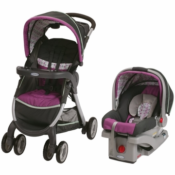 Graco FastAction Fold Click Connect Travel System/Click Connect - Nyssa