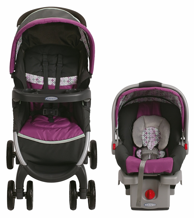 Graco Fastaction Fold Click Connect Travel System Nyssa