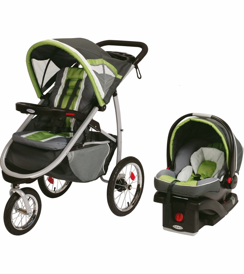 Graco Fastaction Fold Jogger Connect Travel System