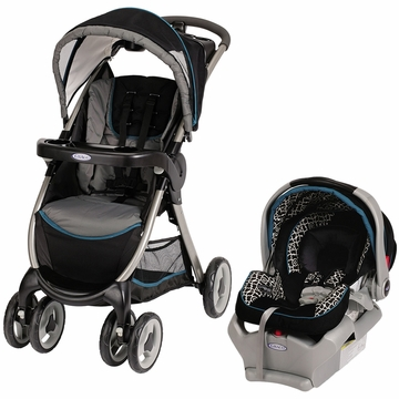 Graco FastAction Fold LX Classic Connect Travel System - Orlando