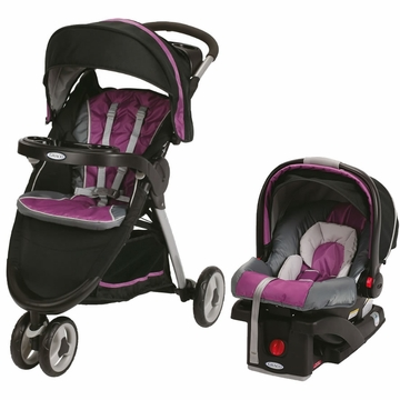 Graco FastAction Fold Sport Click Connect Travel System - Nyssa