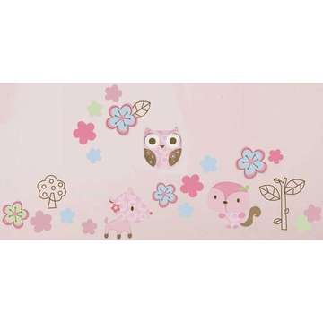 Graco Girl Woodland Wall Decals by KidsLine