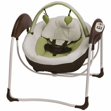 Graco Glider Petite LX Swing - Go Green