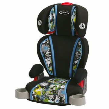 Graco Highback TurboBooster Car Seat - Rockout