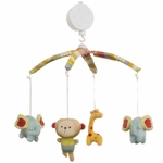 Graco Jungle Friends Musical Mobile by KidsLine