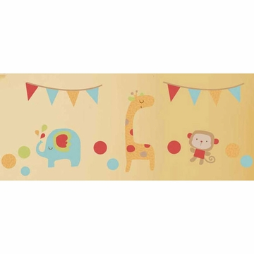 Graco Jungle Friends Wall Decals by KidsLine