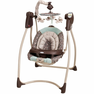 Graco Lovin' Hug Plug-In Infant Swing - Capri