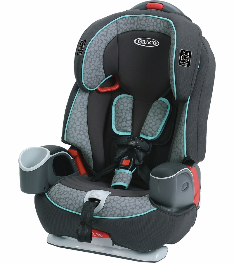 Green And Black Infant Car Seat