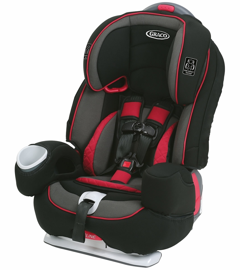 Graco Nautilus 80 Elite 3-in-1 Car Seat - Chili Red