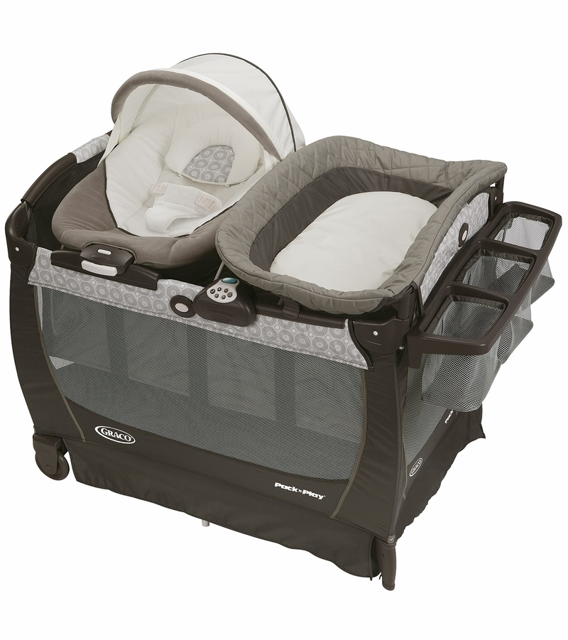 Graco Pack N Play Playard Snuggle Suite Lx Abbington
