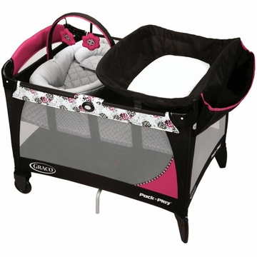 Graco Pack 'n Play Playard with Newborn Napper Station LX - Sable