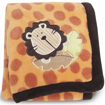 Graco Peek-A-Boo Basics Embroidered Boa Blanket by KidsLine