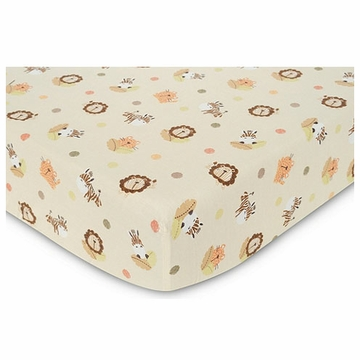 Graco Peek-A-Boo Basics Fitted Sheet by KidsLine