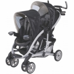 Graco Quattro Tour Duo Flint Double Stroller 6K00FLN3 - Flint