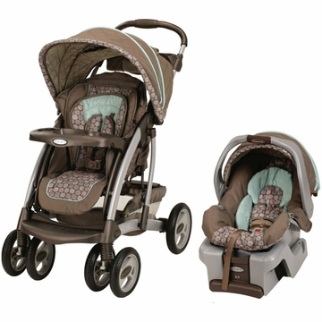Graco Quattro Tour Reverse Classic Connect Travel System - Capri