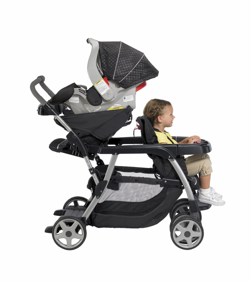 Graco Ready To Grow Stand And Ride Duo Stroller Forester