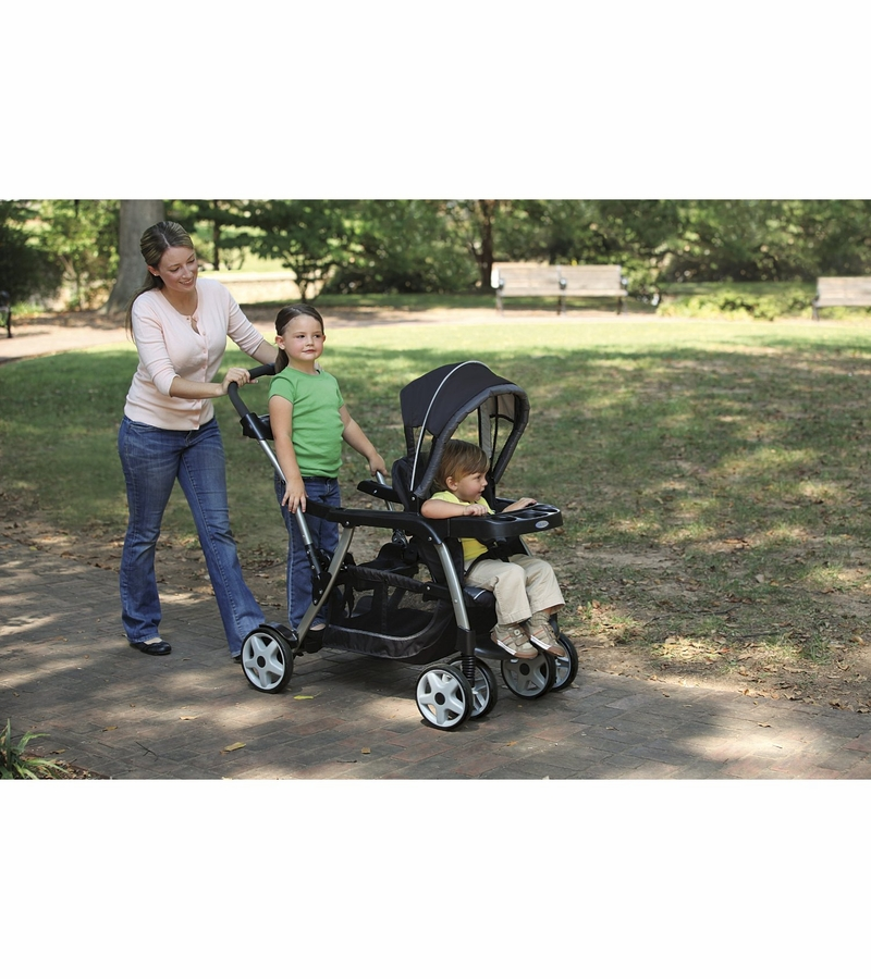 Graco Ready To Grow Stand And Ride Duo Stroller Oasis