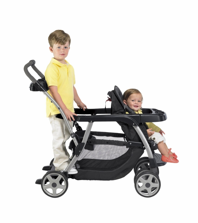 Graco Ready2grow Classic Connect Lx Duo Stroller Metropolis