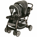 Graco Ready2Grow Click Connect LX Duo Stroller - Glacier