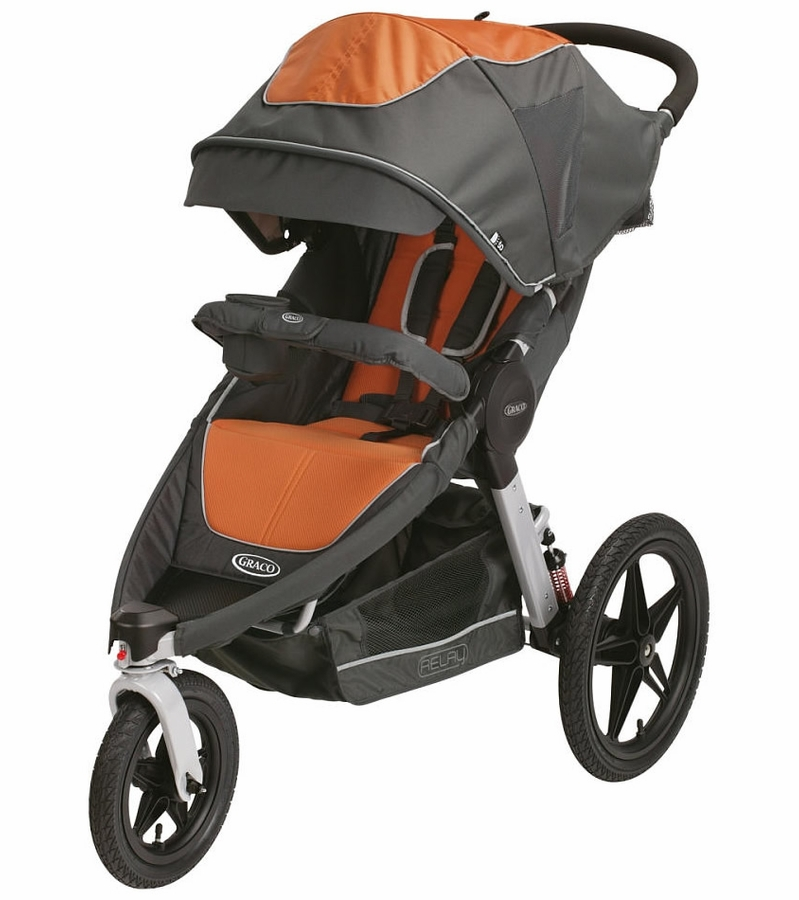Graco Relay Click Connect Stroller Tangerine