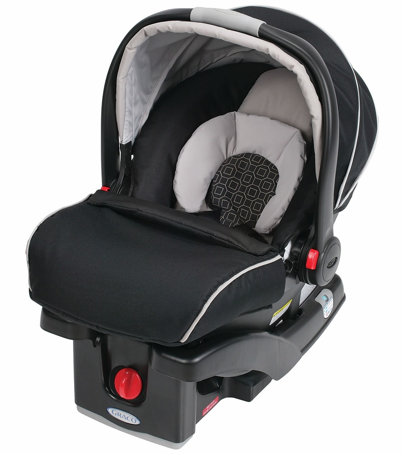 Graco Snugride Infant Car Seat Black And Red