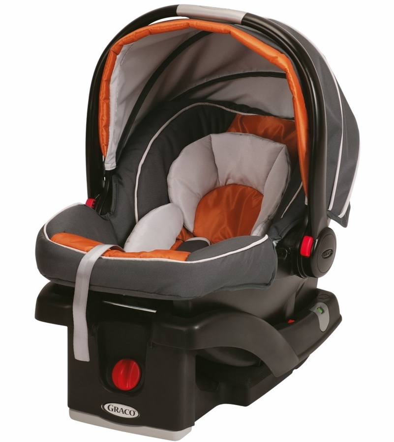 Graco Snugride Click Connect 35 Infant Car Seat Tangerine