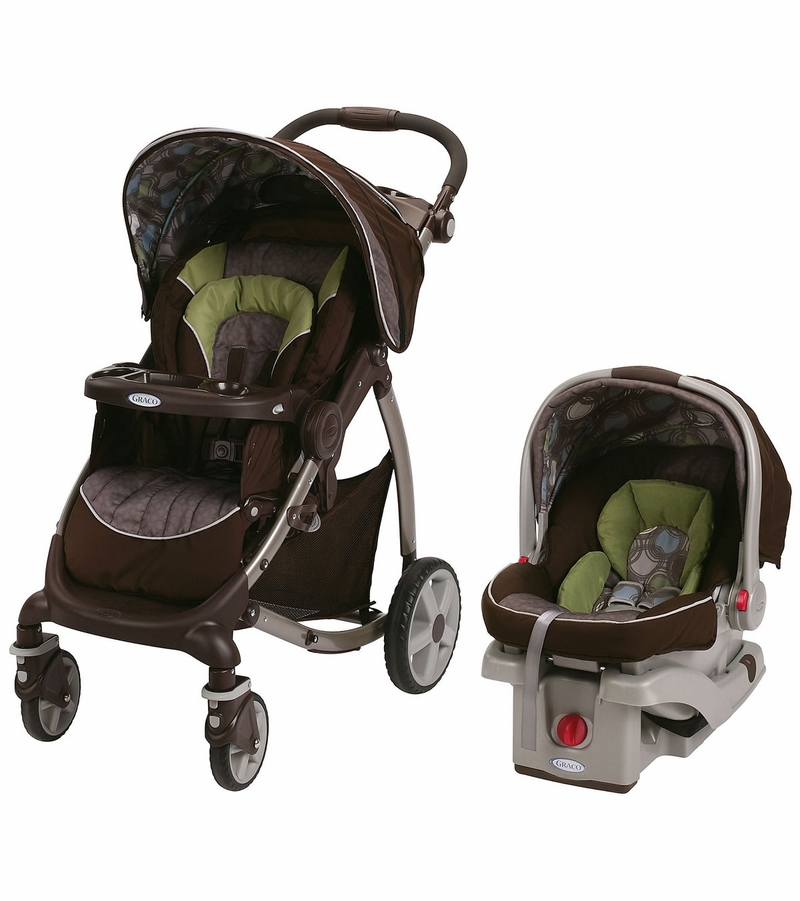 Graco's Modes Jogger Travel System gives you 5 ways to ride, plus everything you need to jog, with Graco's SnugRide SnugLock 35 infant car seat. 5 ways to ride includes infant car seat facing parent or the world, stroller seat facing parent or the world, or traditional travel system.
