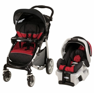 Graco Stylus Edge Classic Connect Travel System - Lotus