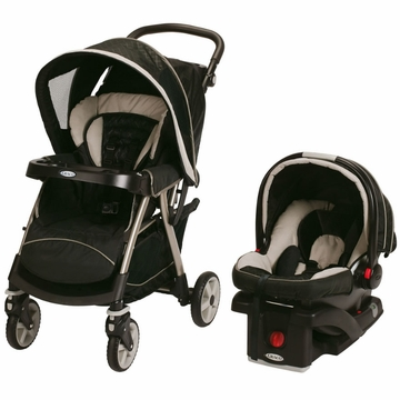 Graco UrbanLite Click Connect Travel System - Titanium