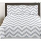 Gray & White Chevron Collection