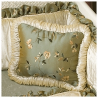 Green Frog Art Pillows