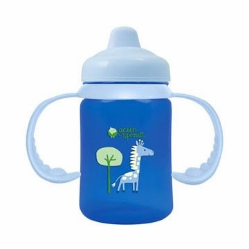 Green Sprouts Non-Spill Sippy Cup (Stage 2 to 4) Blue