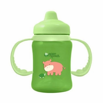 Green Sprouts Non-Spill Sippy Cup (Stage 2 to 4) Green